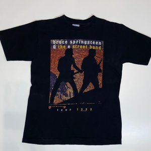 Bruce Springsteen 1999 Tour T Shirt Large USA made